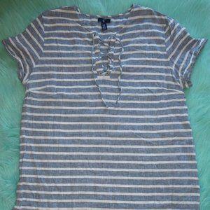 Gap Linen/Cotton Shift Dress